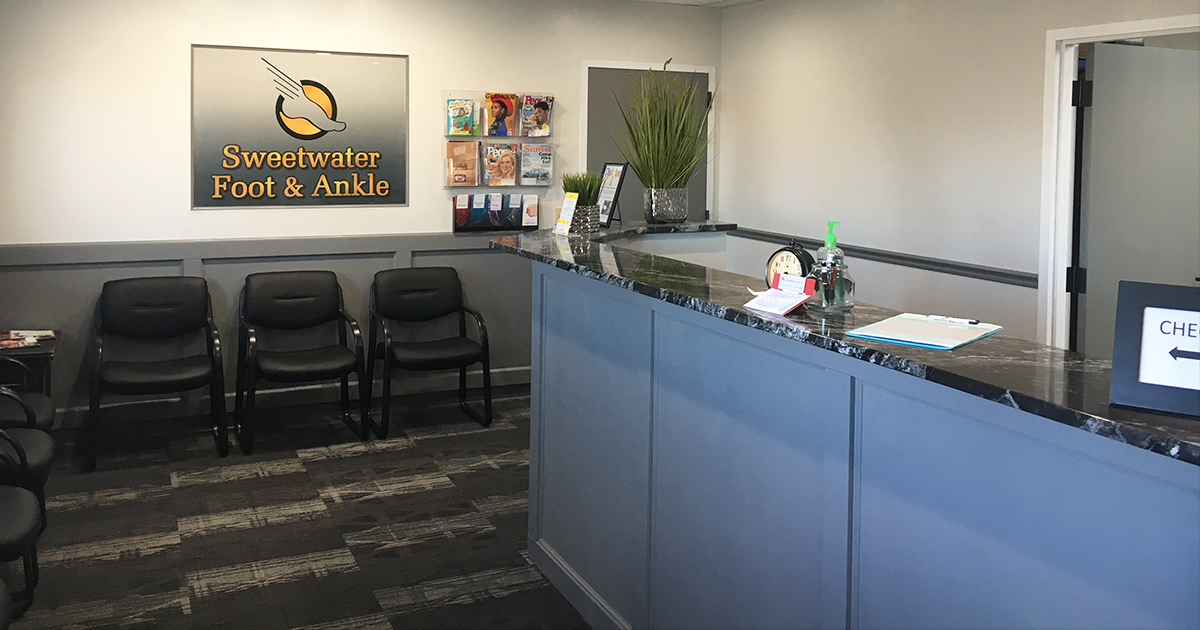 Join Sweetwater Foot & Ankle for Ribbon Cutting & Open House at Their Newly Remodeled Practice