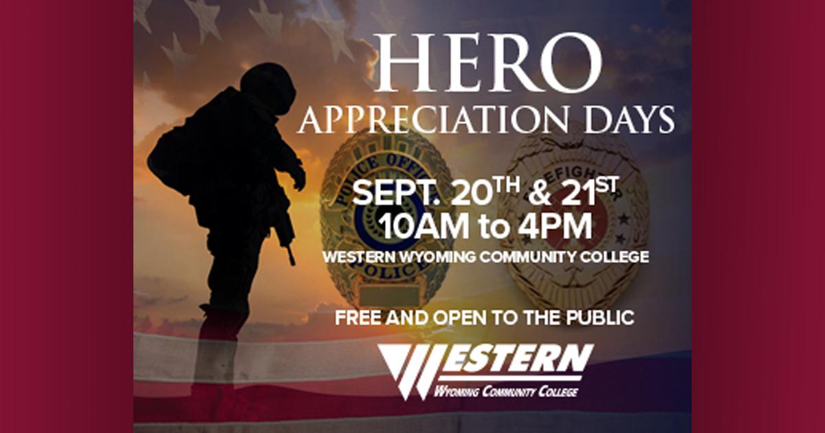 Western to Host Hero Appreciation Day September 20-21