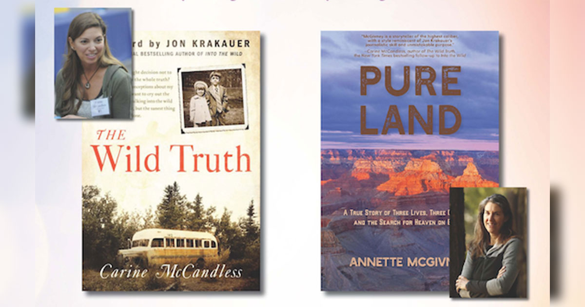 Award-Winning Writers Carine McCandless and Annette McGivney Coming to Western's Campus for Readings and Workshop