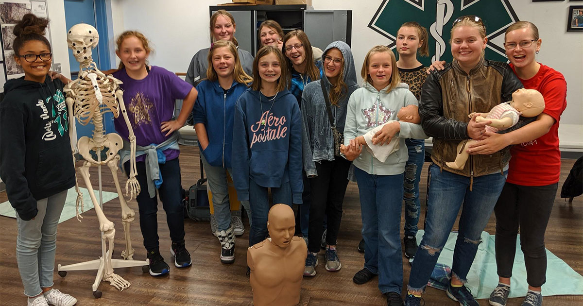 Green River Girl Scouts Earn CPR Certifications