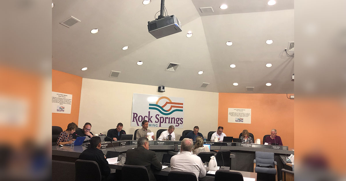Rock Springs Council Approves Construction Funding