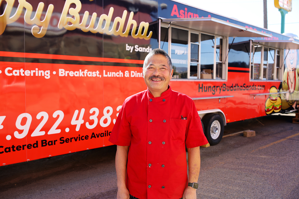 #HOMETOWN HUSTLE: Wing Lew | The Hungry Buddha Food Truck