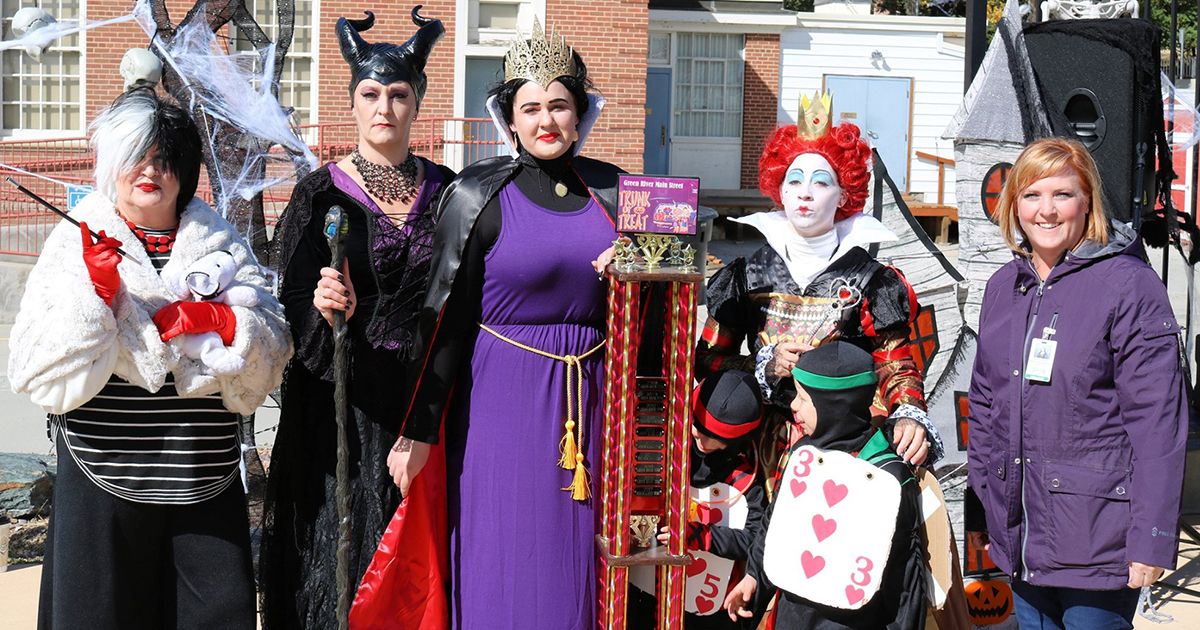 Wear Your Best Costume for the Annual Green River Trunk or Treat
