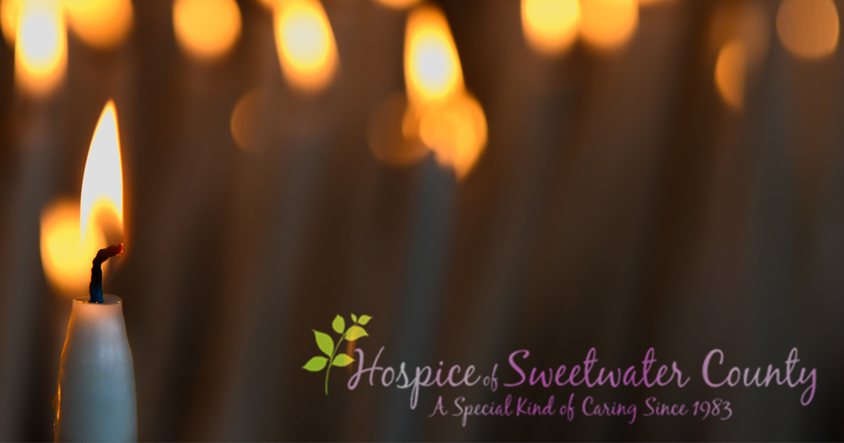Attend Hospice of Sweetwater County's Candlelight Vigil Service