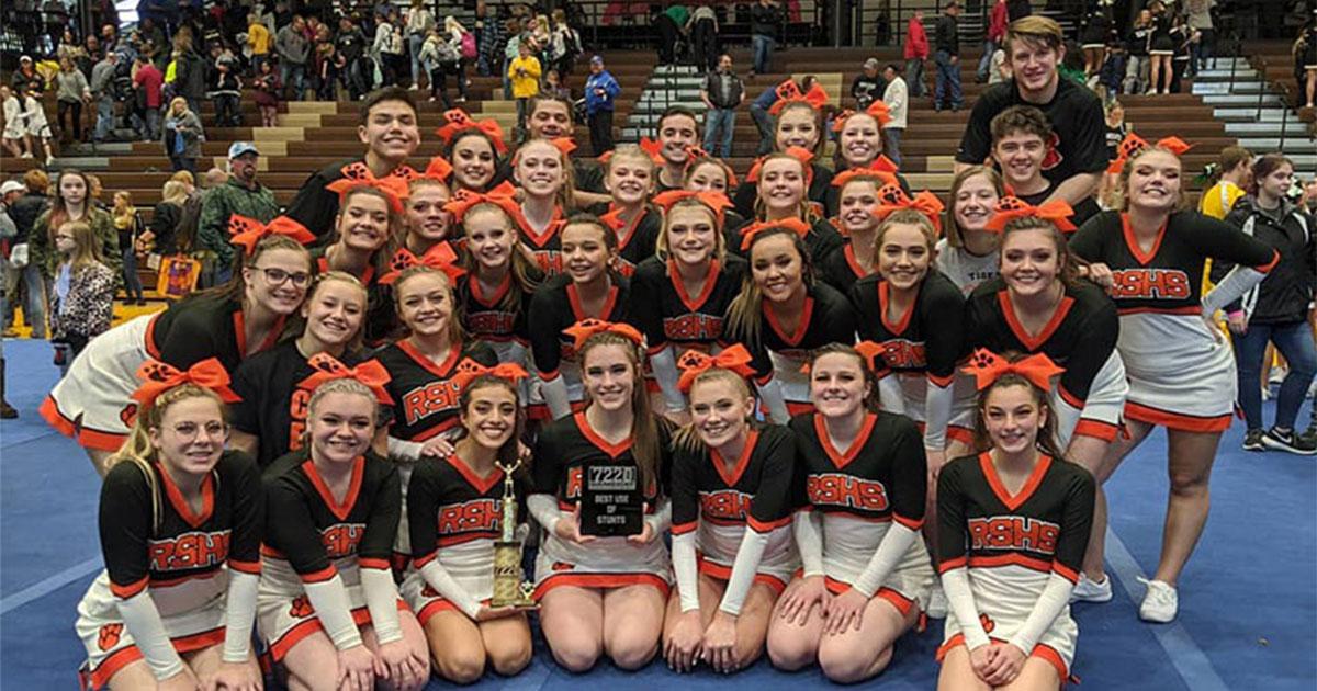 RSHS Cheer Squad Shines at Spirit Championships