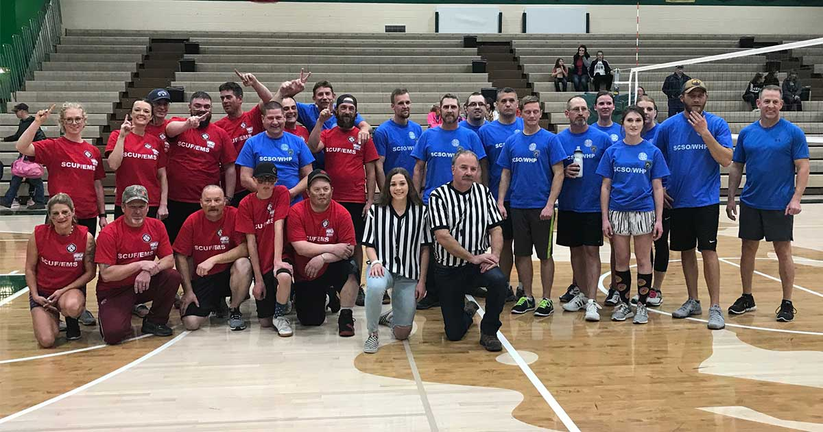 Over $2000 Raised in Sublette County Battle of the Badges Event for Kickin' Cancer