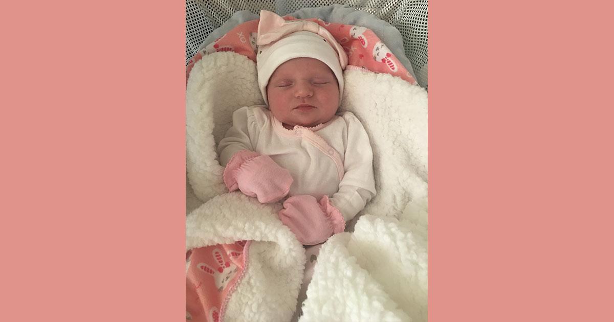 Birth Announcements: Kazper Marie Allen