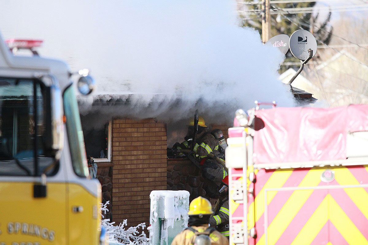 Rock Springs House Fire Caused by Burning Candle