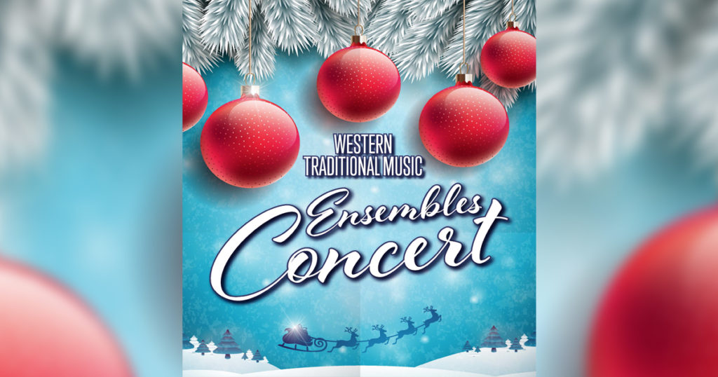 Celebrate the Holidays With Western's Holiday Music Concert