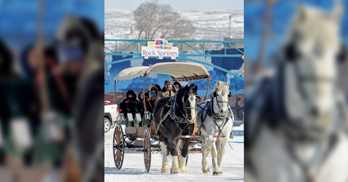 Downtown Horse and Carriage Rides Offered Through Holiday Season