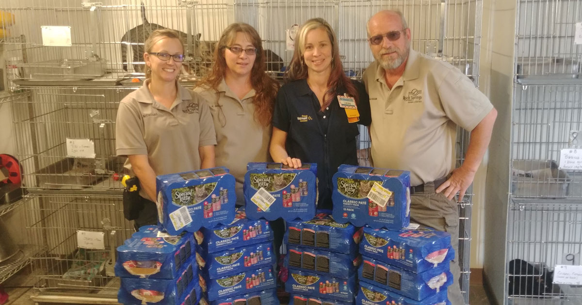Rock Springs Animal Control Receives Donation in Memory of William John Buchanan