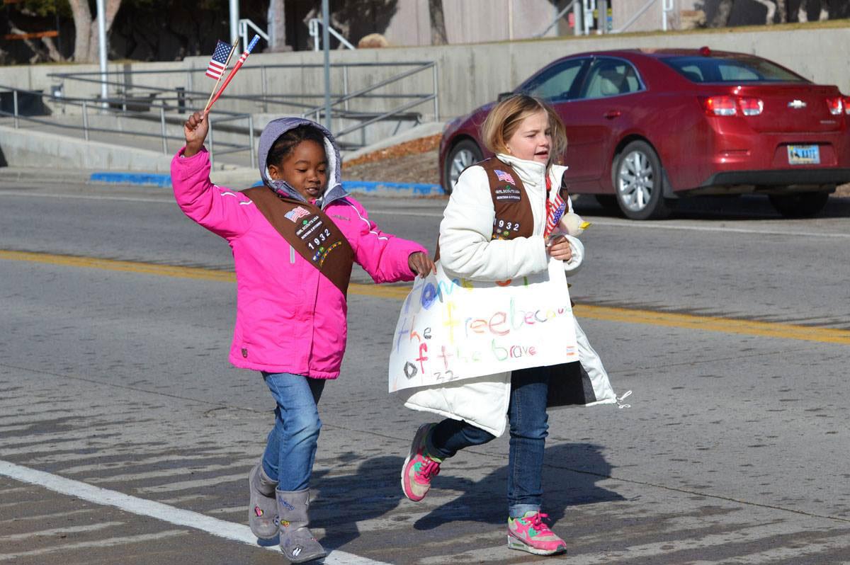 Girl Scouts to Serve Spaghetti Lunch Following Veteran's Freedom Run on Saturday