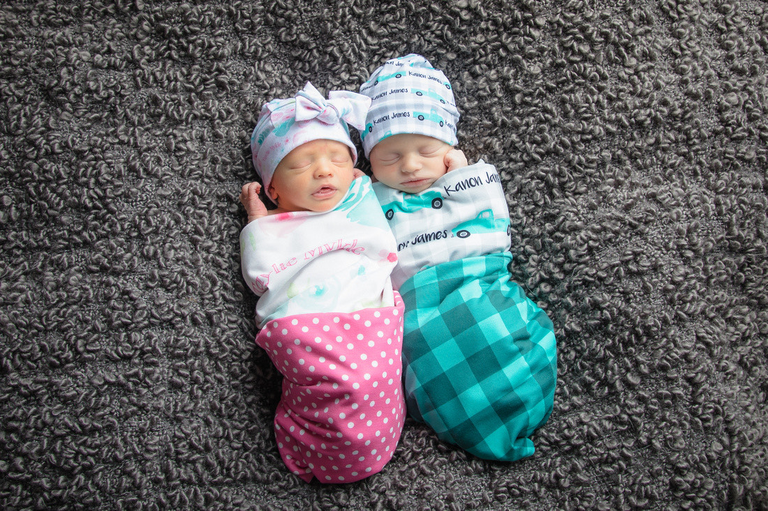 Birth Announcement: Taylie Mykle Mandros and Kanon James Mandros
