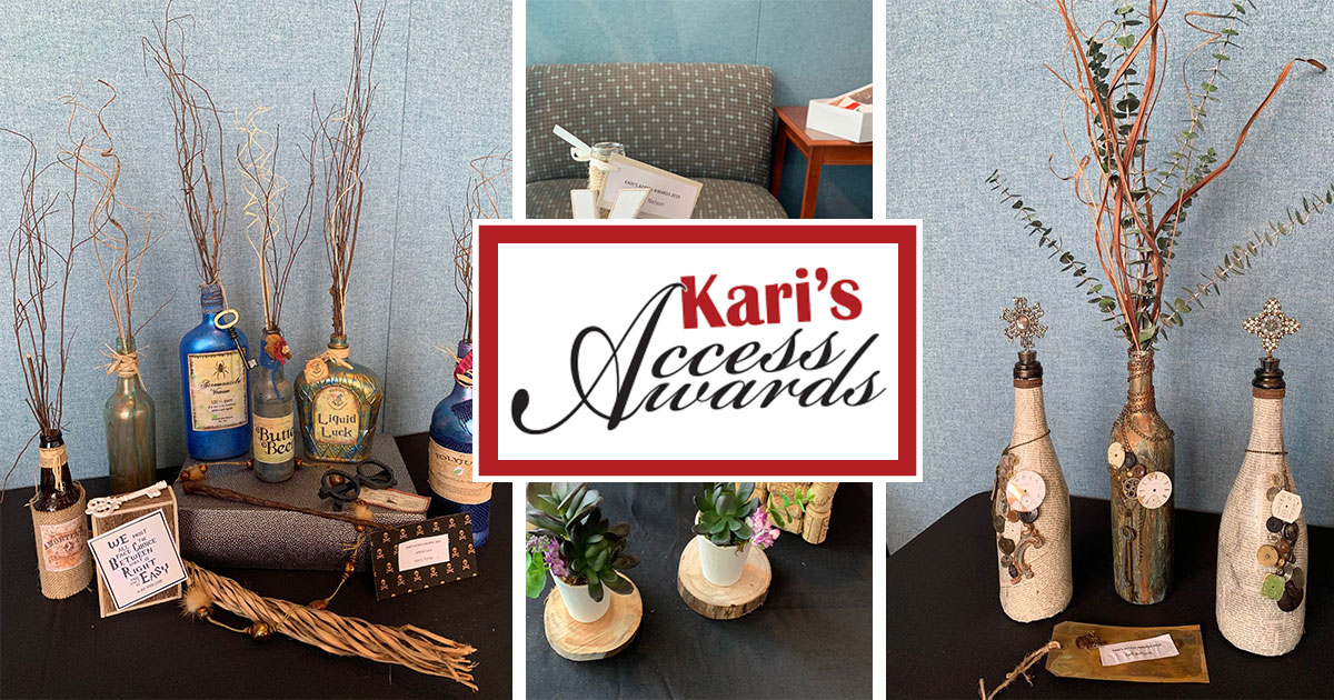The Kari's Access Awards Design & Wine Contest is Back!
