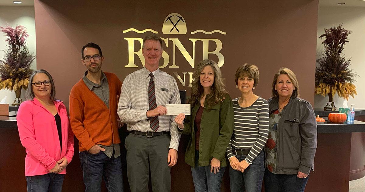 RSNB Bank Donation Sponsors Santa at RS Historical Museum
