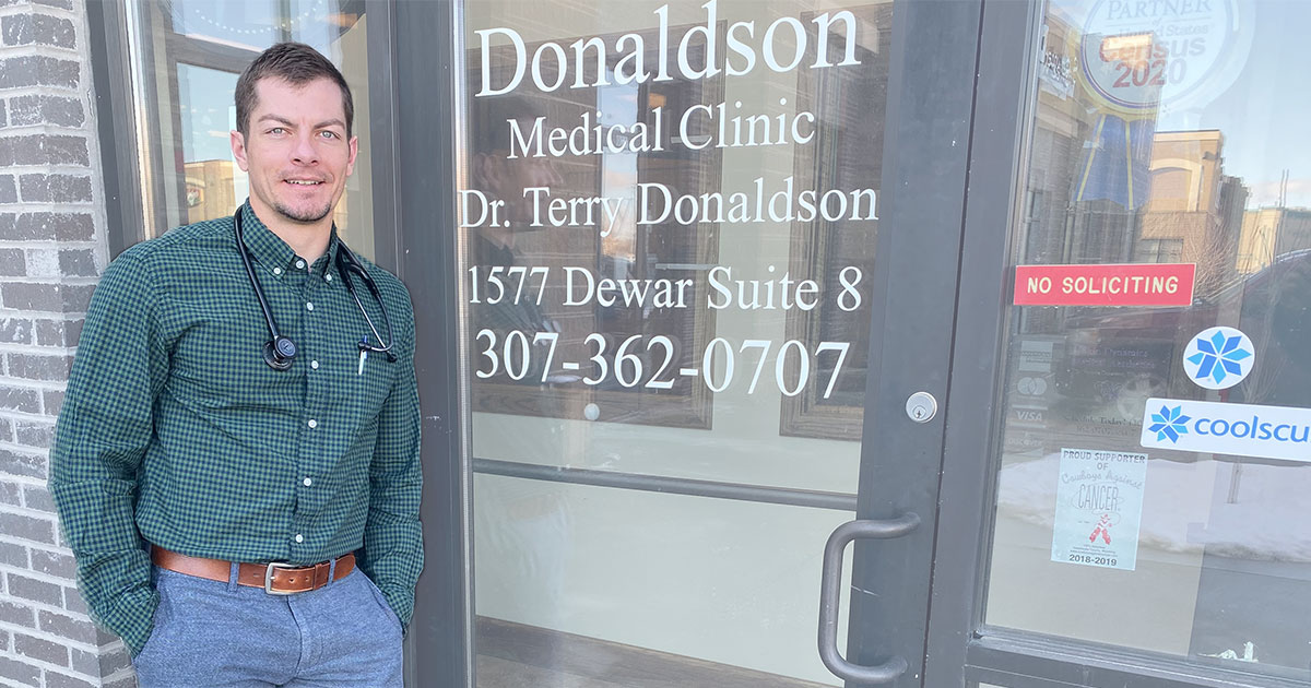 Shawn Rockey PAC Joins Donaldson Medical Clinic