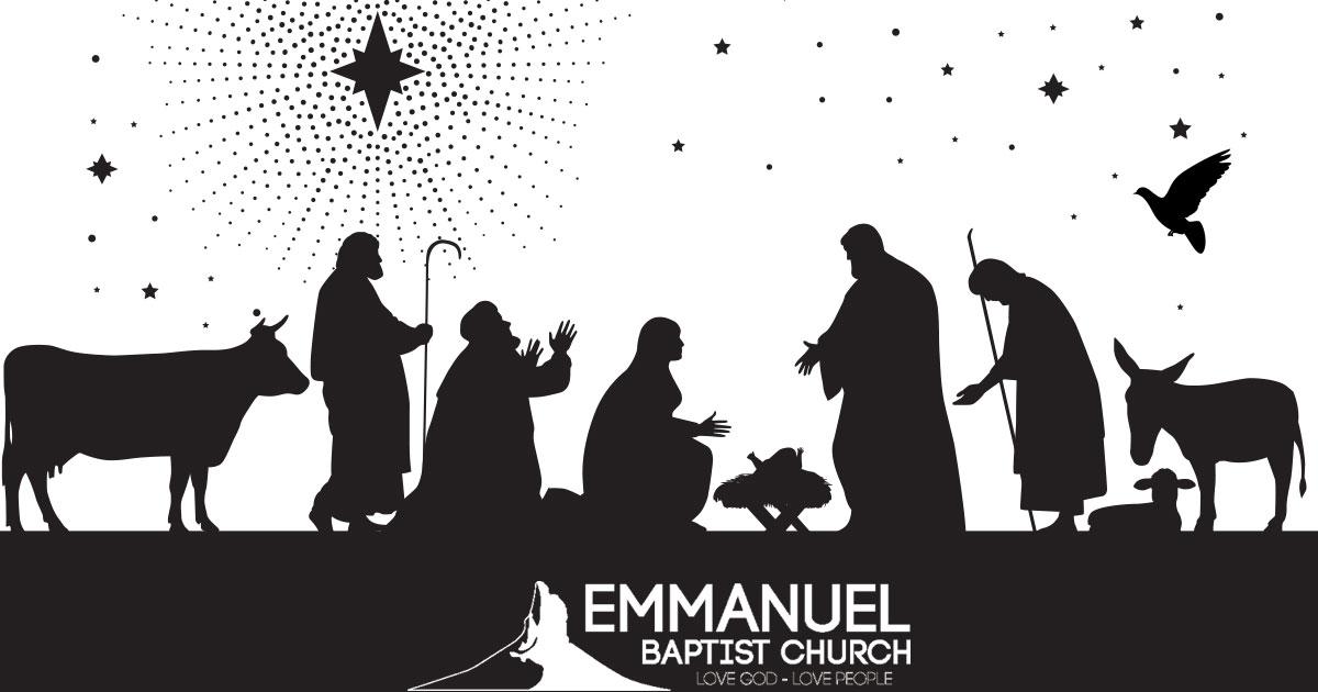 View a FREE Live Nativity Scene at Emmanuel Baptist Church