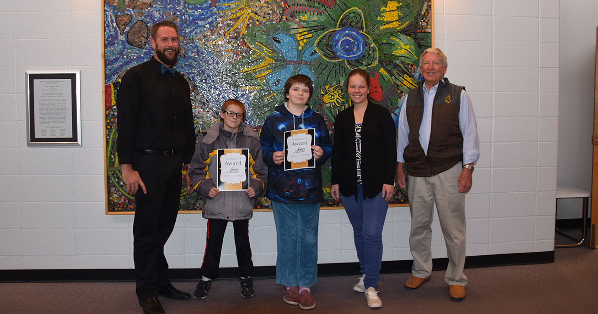 Local Students Receive Gift of Music from Kari's Access Awards