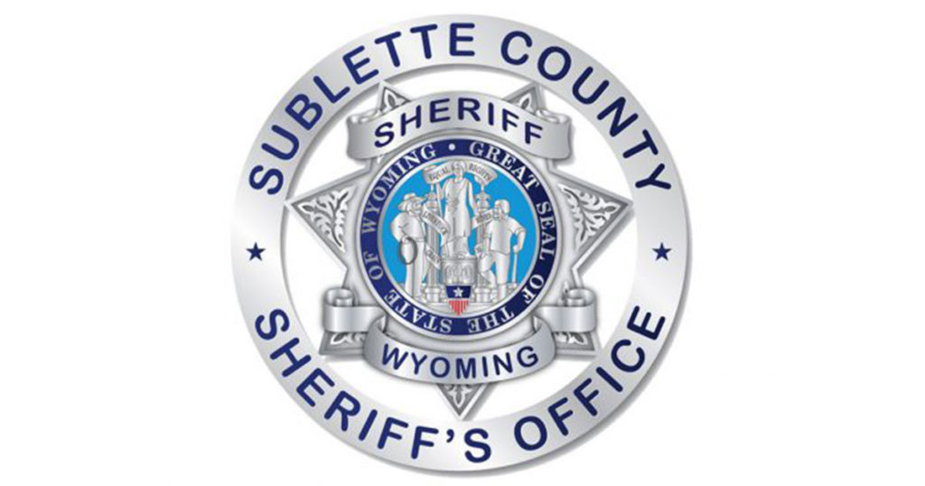 Sublette County Arrest Report for March 29 – April 5, 2021