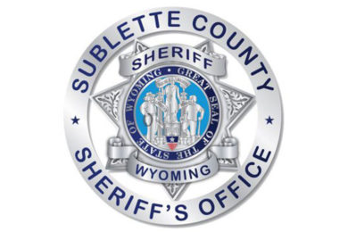 Sublette County Arrest Report for May  3 – May 10, 2021