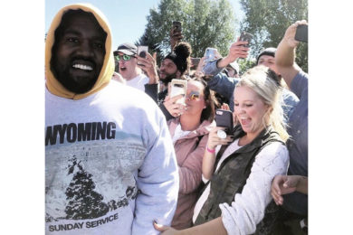Kanye West Donates Shoes for Benefit to Support Riverton Coach Fighting Cancer