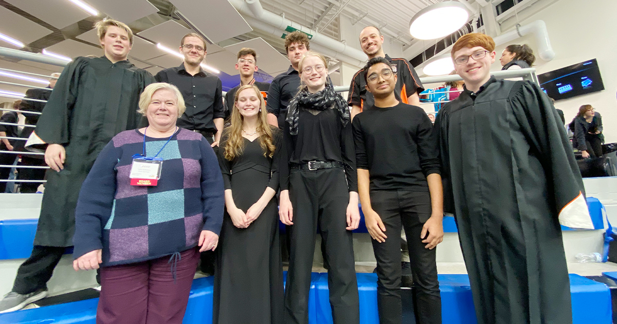 Rock Springs Students Participate in All-State Music Conference