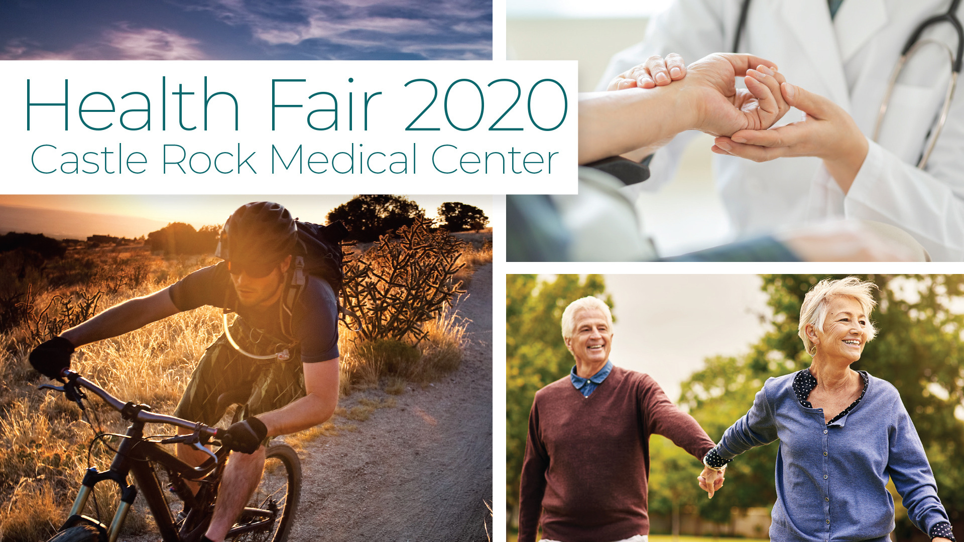The 2020 Castle Rock Medical Center Health Fair is Here!
