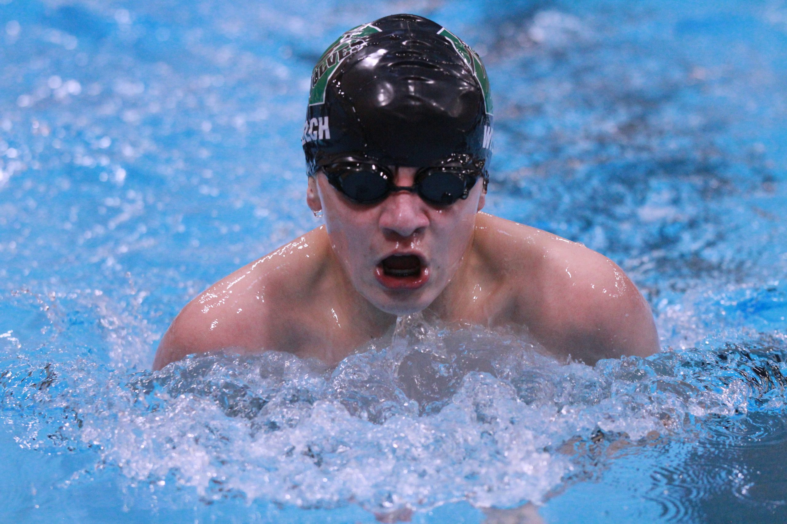 Wolves Swim Into First Place at Rock Springs Invite