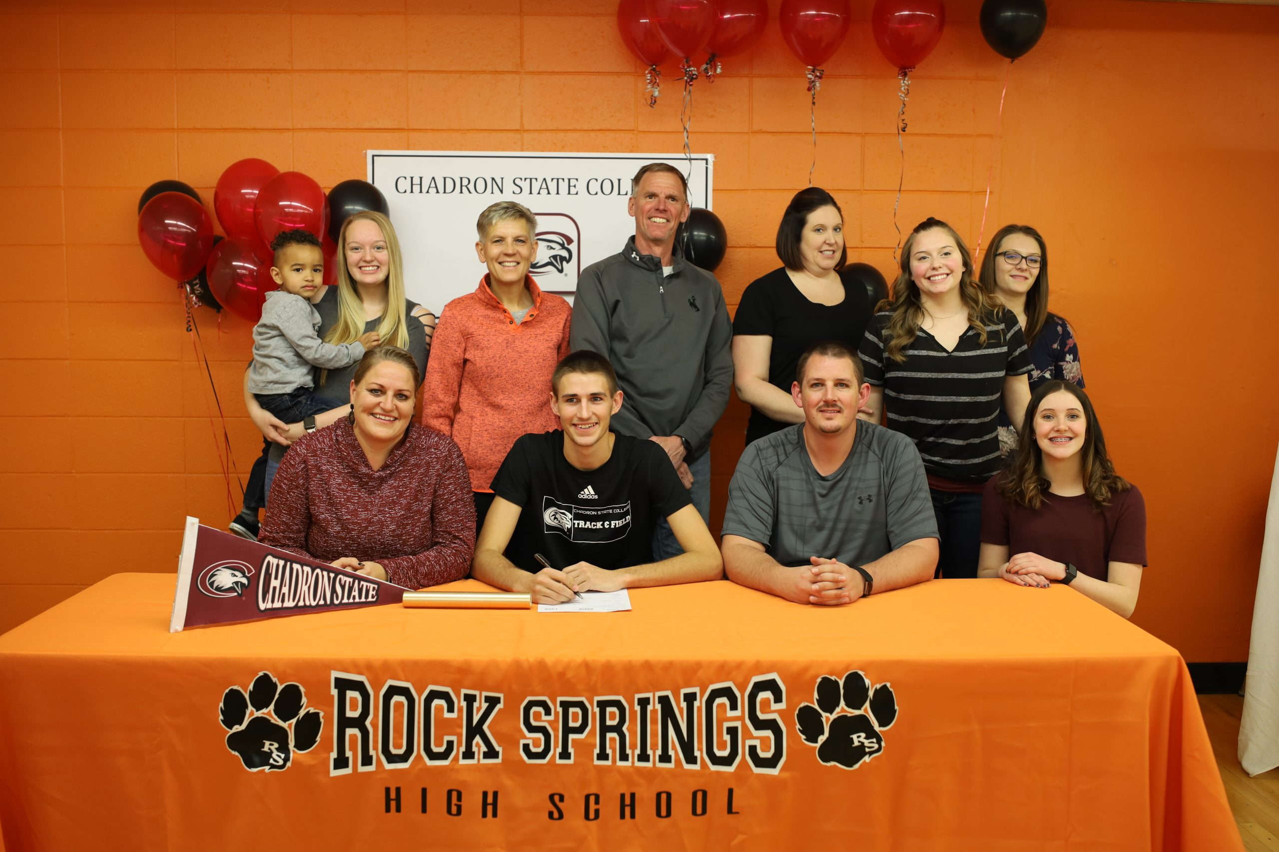 RSHS' Jayson Caudell Signs With Chadron State