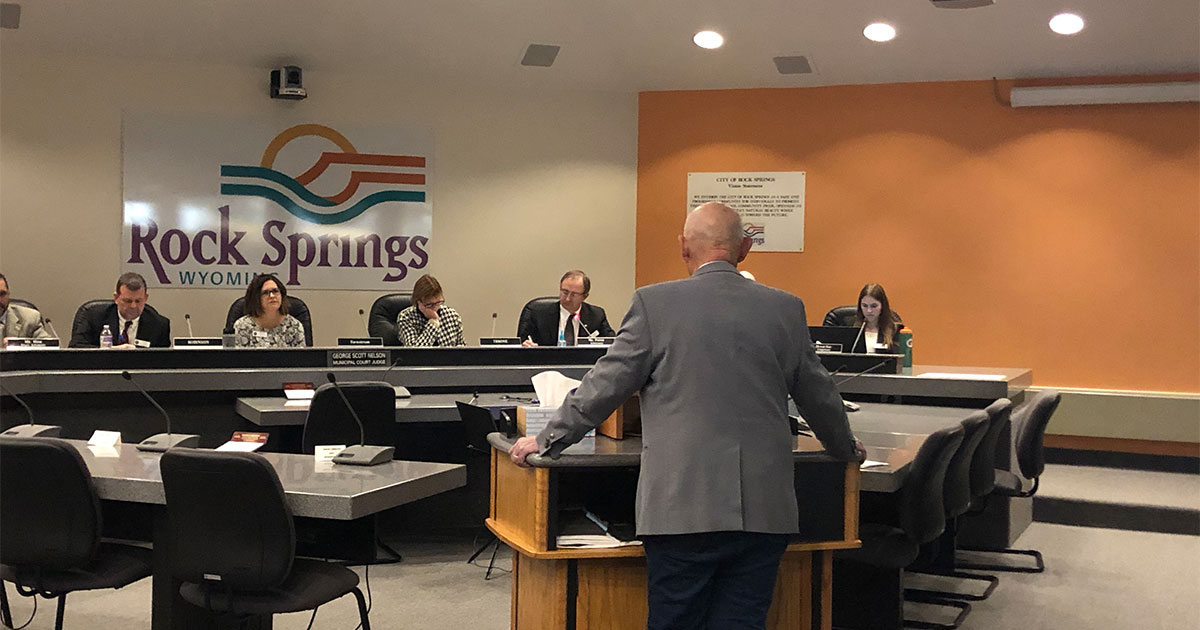 Public Service Commission Holds Hearing In Rock Springs