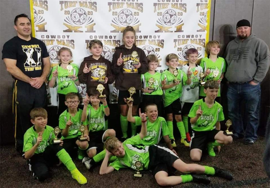 Green River Spurs Soccer Takes Home First Place in Laramie