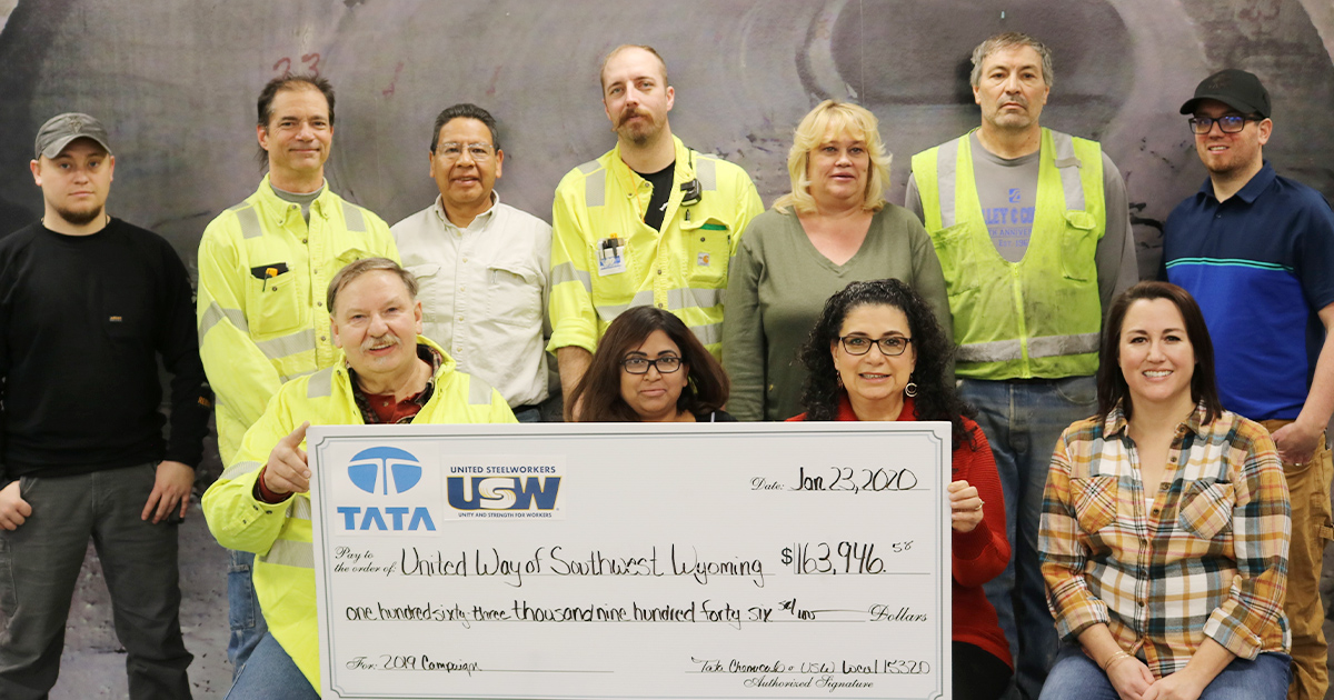 United Way Receives Big Donation