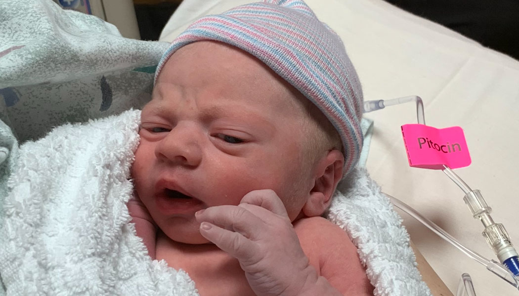 Birth Announcement: Kash Jay Young