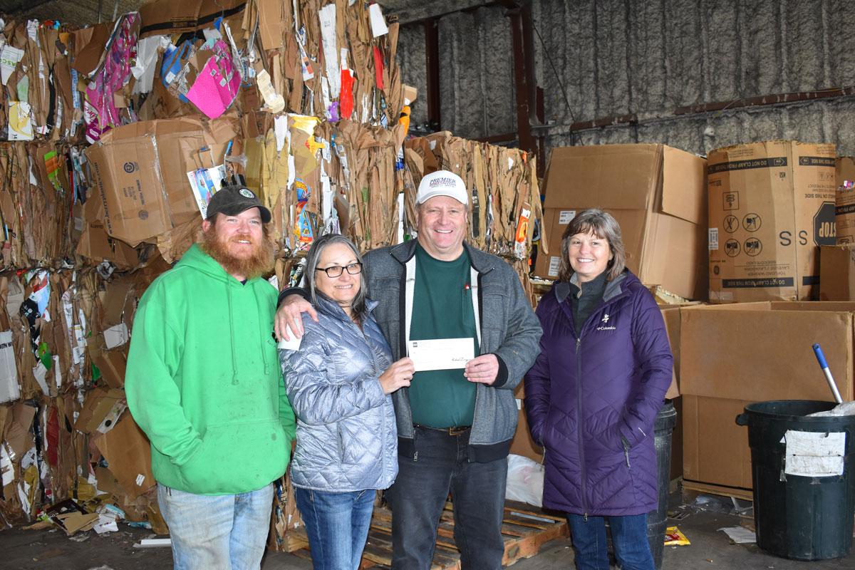 Ray Lovato Recycling Center Receives $22,000 Donation for Farson Recycling Program