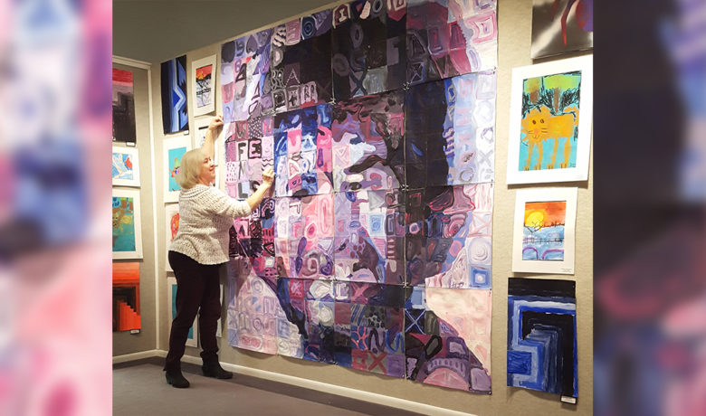 Desert View, Farson-Eden Students Show Artwork at CFAC