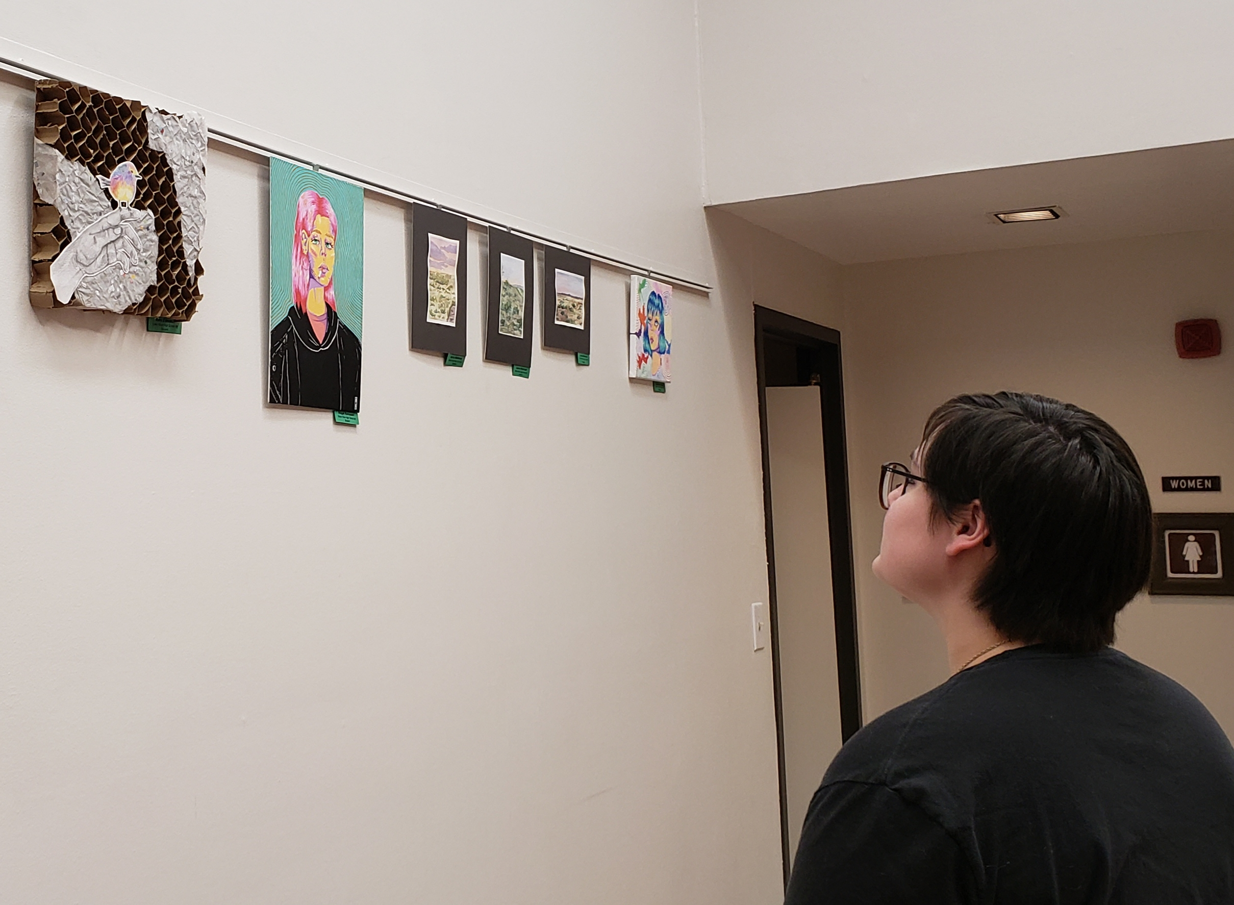 Eleven GRHS Student Artwork on Display at the Sweetwater County Library