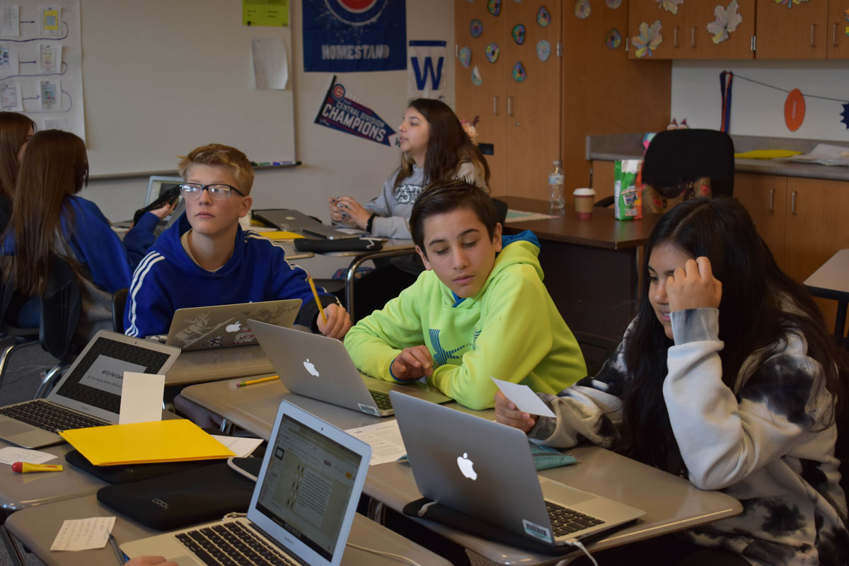 Junior High Students Design Apps for goIT Event