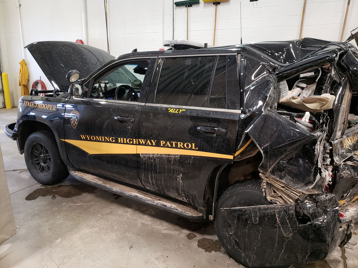 WHP Trooper Injured in Collision with Commercial Truck