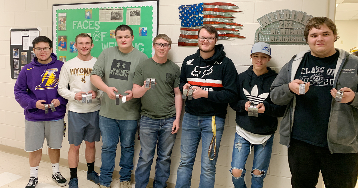 GRHS Students Obtain Welding Certifications