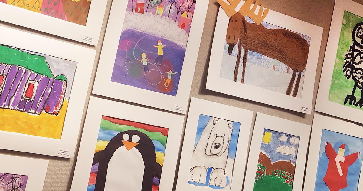 Walnut, Westridge Elementary Students Showcase Their Artwork