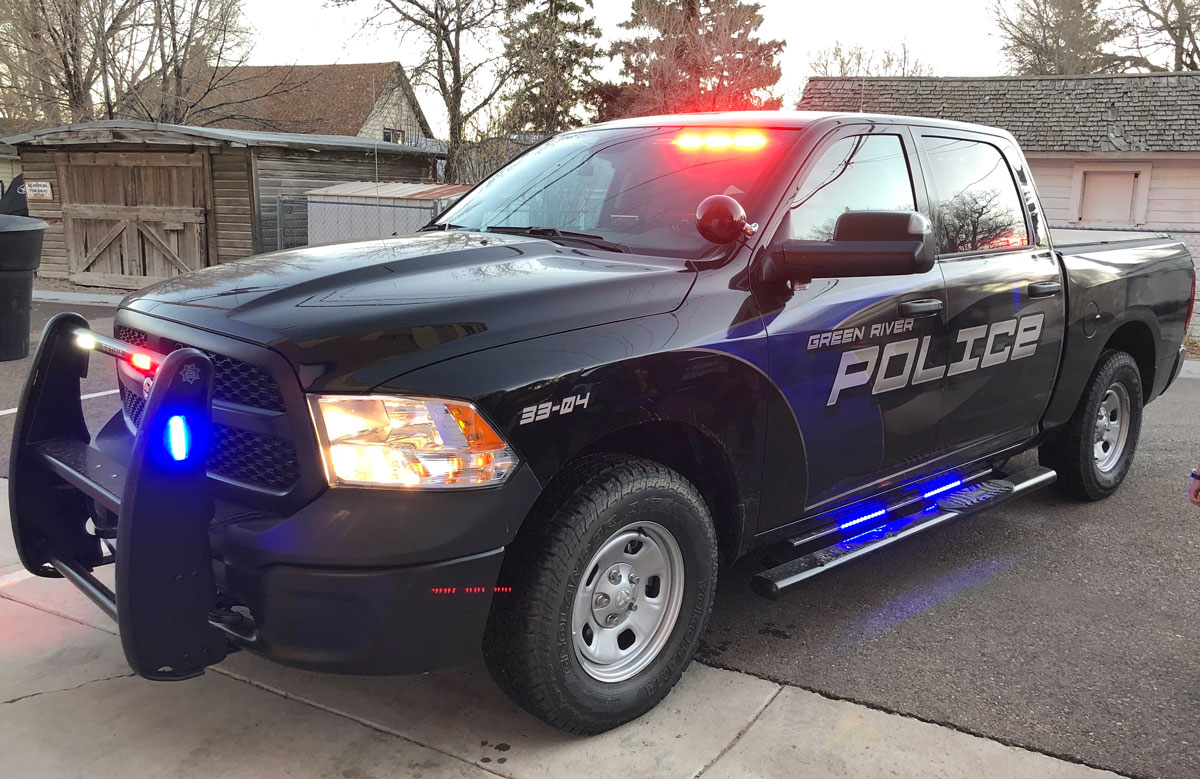 Green River Police Department Adds Truck to Fleet