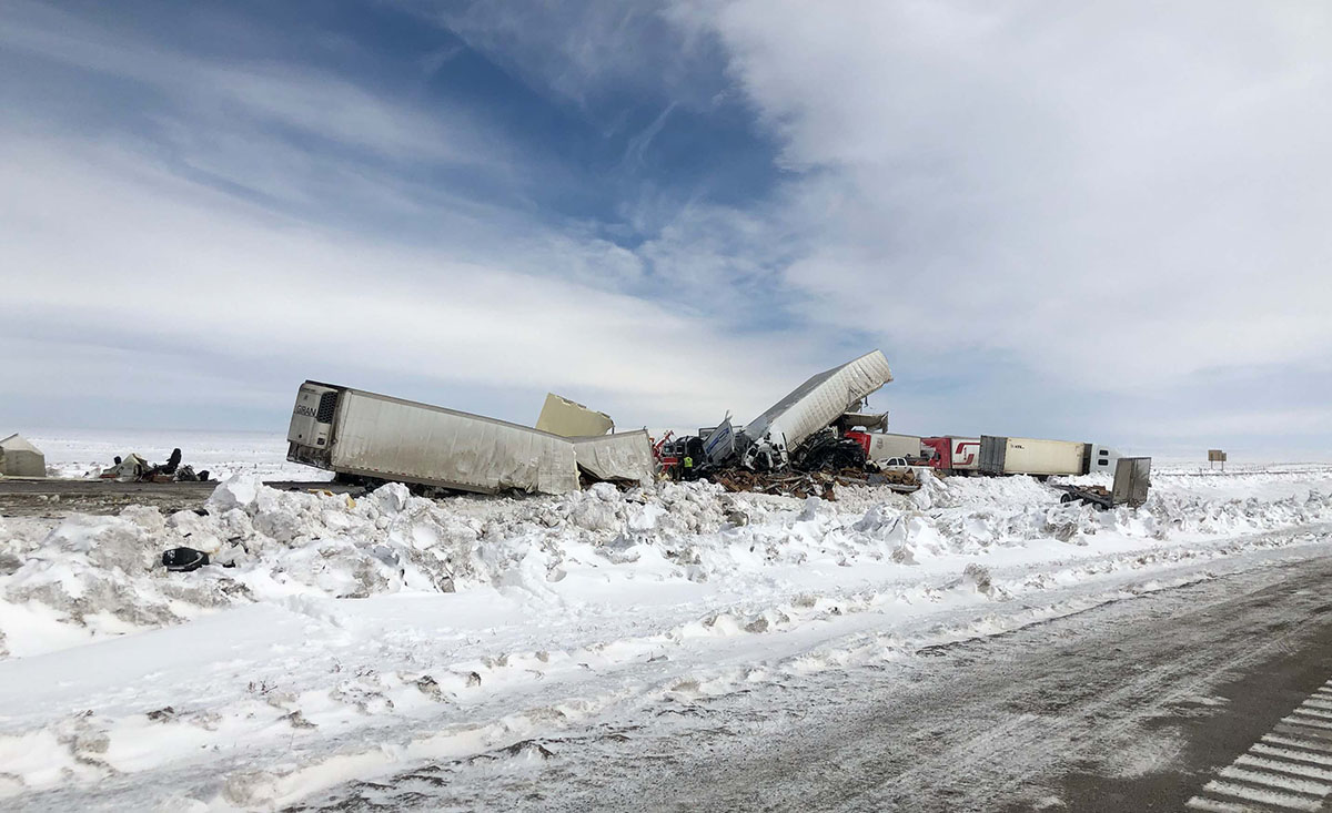 Wyoming Highway Patrol Releases Statement about I-80 Crashes