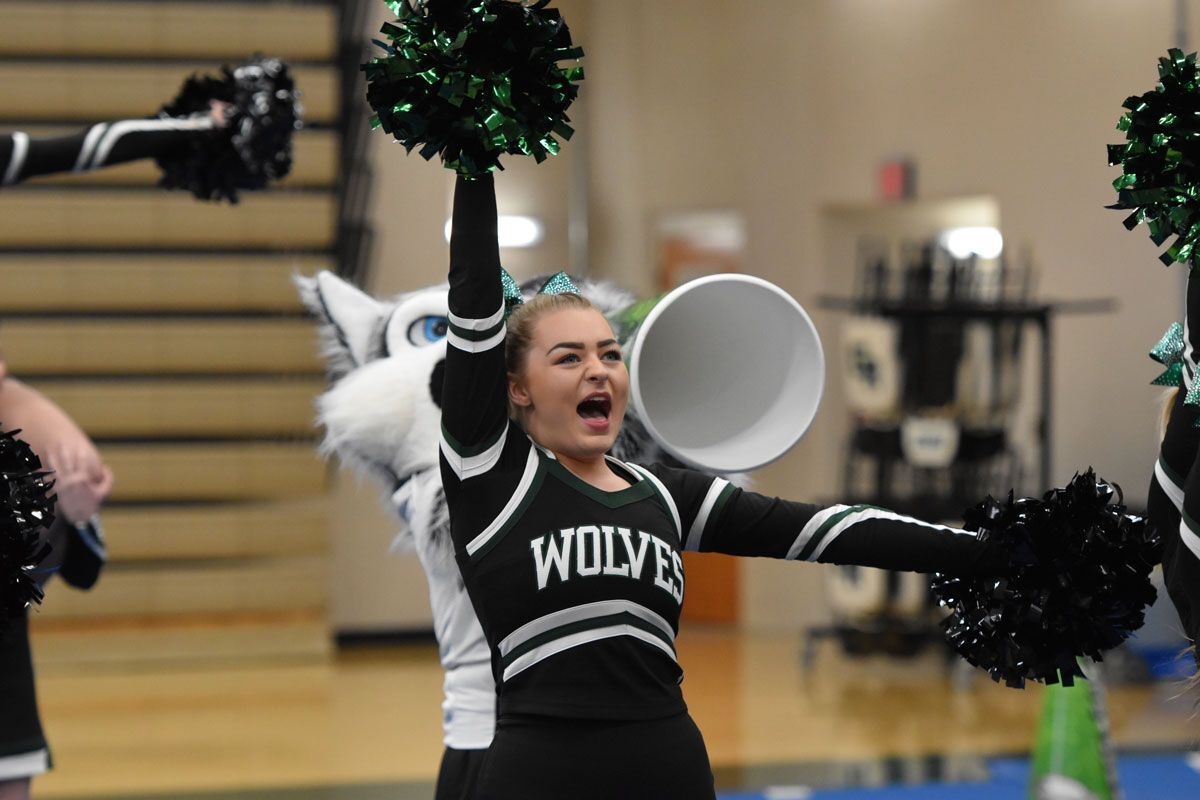 GRHS Cheer Team Takes Second at State Spirit; Dance Earns Fourth