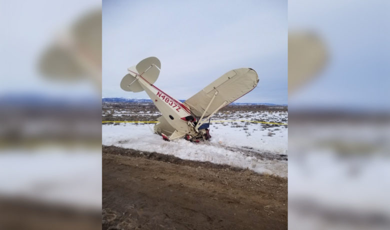 Plane Crashes near Pinedale Airport