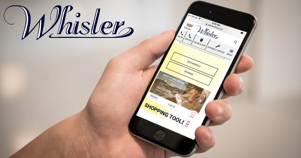 Whisler Adapts to Social Distancing Regulations with New Ways to Purchase that Dream Vehicle