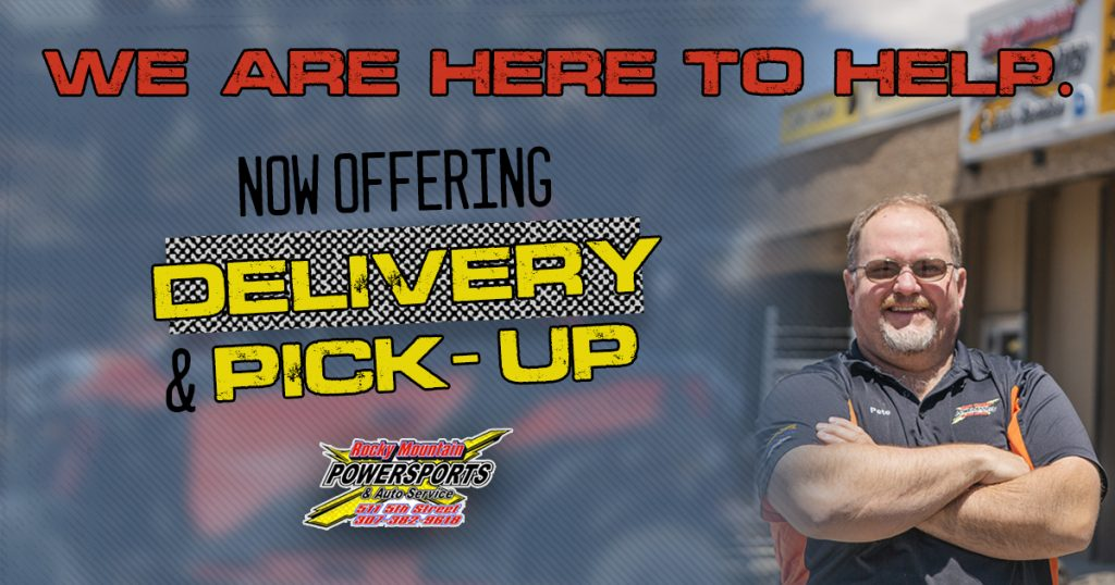 Rocky Mountain Powersports & Auto Offering Delivery, Pick-Up, Phone Transactions