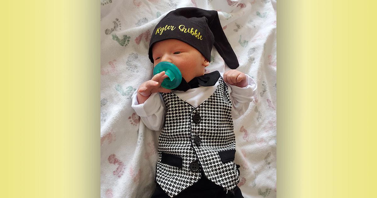Birth Announcement: Kyler Ryland Gribble