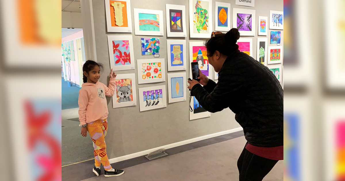 Northpark and Overland students show art at CFAC