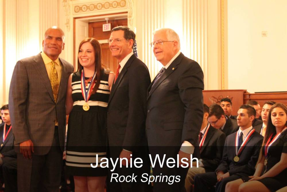Rock Springs Students honored by Sen. Enzi and Barrasso