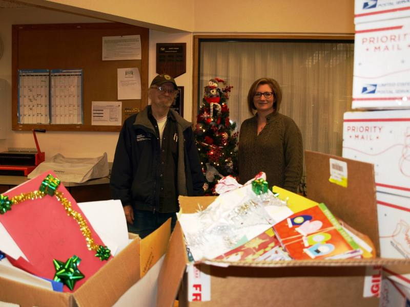 Groups Send Holiday Wishes to Local Troops Stationed Overseas